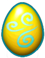 DragonVale Thunder Dragon egg