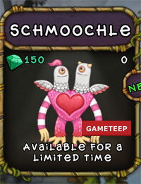 My Singing Monsters Schmoochle Monster