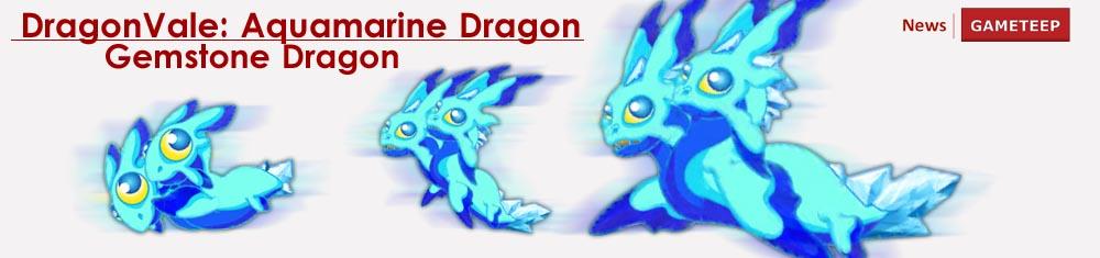 Dragon Vale Aquamarine Dragon Egg