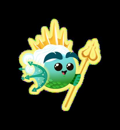 Fish With Attitude Neptune Fish Egg Gameteep