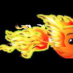 Fish with Attitude Phoenix Fish baby