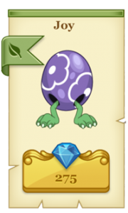 Tiny Monsters - Purple Joy Monster
