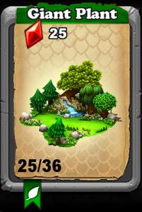 DragonVale - Giant Plant Habtat