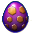 DragonVale Meteor Dragon egg