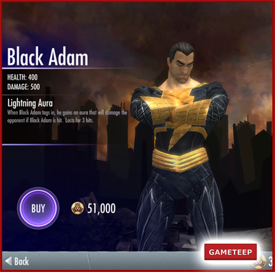 Injustice Gods Among Us - Black Adam