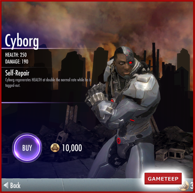 Injustice Gods Among Us - Cyborg