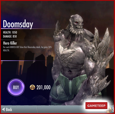 Injustice Gods Among Us - Doomsday