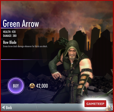 Injustice Gods Among Us - Green Arrow