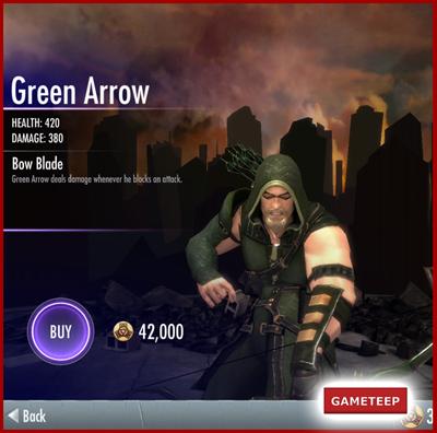 Injustice Gods Among Us - Green Arrow