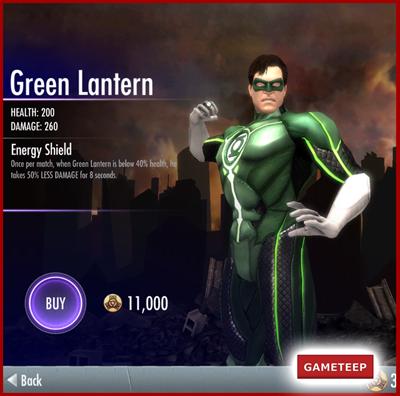 Injustice Gods Among Us - Green Lantern