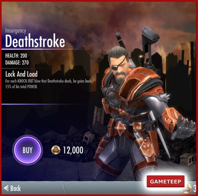 Injustice Gods Among Us - Insurgency Deathstroke