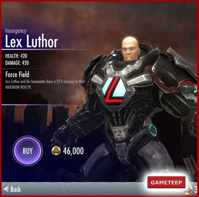 Injustice Gods Among Us - Insurgency Lex Luthor