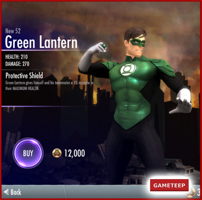 Injustice Gods Among Us - New 52 Green Lantern