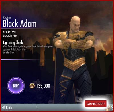 Injustice Gods Among Us - Regime Black Adam