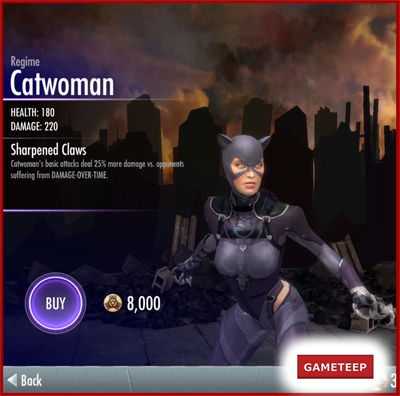 Injustice Gods Among Us - Regime Catwoman