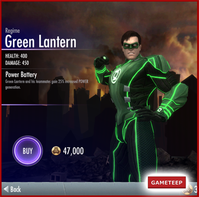 Injustice Gods Among Us - Regime Green Lantern
