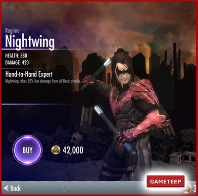 Injustice Gods Among Us - Regime Nightwing