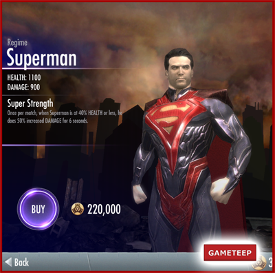 Injustice Gods Among Us - Regime Superman