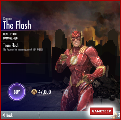Injustice Gods Among Us - Regme The Flash