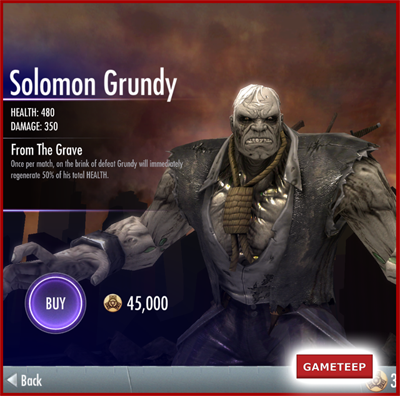 Injustice Gods Among Us - Solomon Grundy