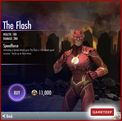 Injustice Gods Among Us - The Flash