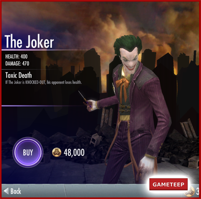Injustice Gods Among Us - The Joker