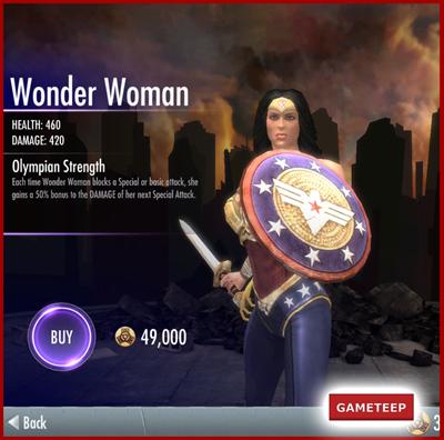 Injustice Gods Among Us - Wonder Woman