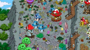 Smurfs Village April 10 screenshot 1