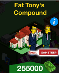 The Simpsons Tapped Out Fat Tonys Compound
