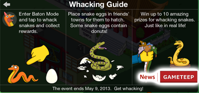 The Simpsons: Tapped Out – Whacking Day Event + Legs & Louie