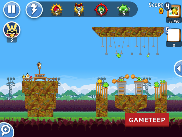 Angry Birds Friends Review Screenshot 9 Gameteep