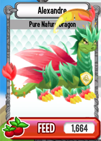 Dragon City Pure Nature Dragon