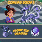Dragon Story: Night Elf Dragon released for breeding