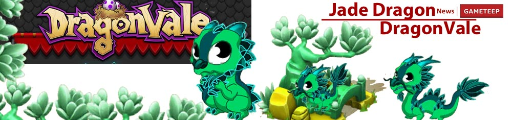 DragonVale Jade Dragon Banner