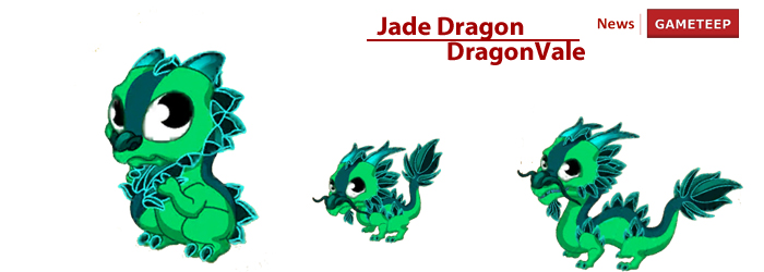 DragonVale Jade Dragon Evolution Chart