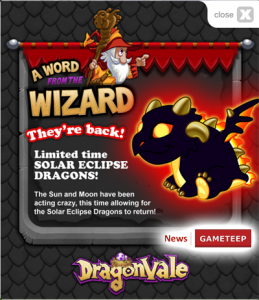 being a limited edition dragon in the game this dragon