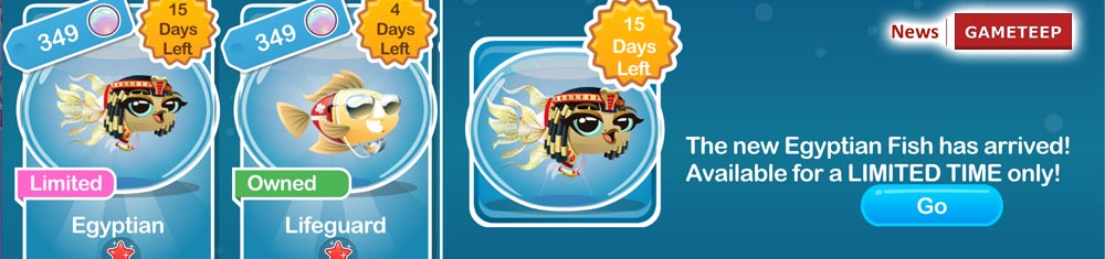 Fish with Attitude Egyptian Fish Banner