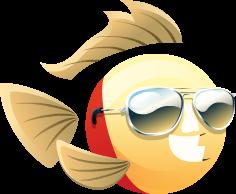 Fish With Attitude Lifeguard Fish Gameteep