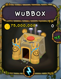 My Singing Monsters Wubbox Monster