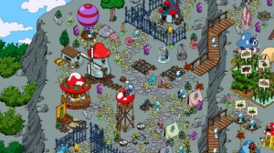 Smurfs Village Miners Mountain Hut Update New Mini Game 3