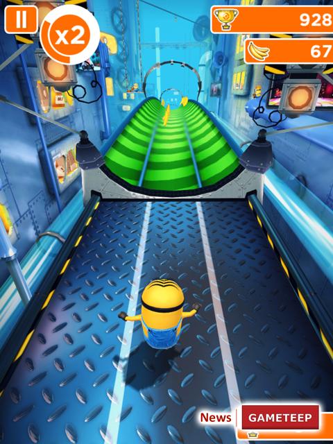 Despicable Me Minion Rush Screenshot 6 Gameteep