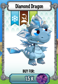 Dragon City Mobile - Diamond Dragon