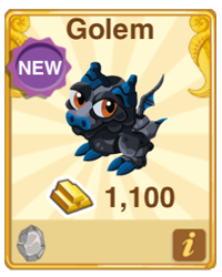 Dragon Story Golem Dragon