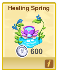 Dragon Story Healing Spring