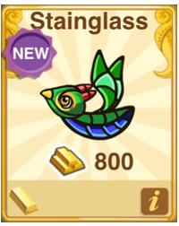 Dragon Story Stainglass Dragon