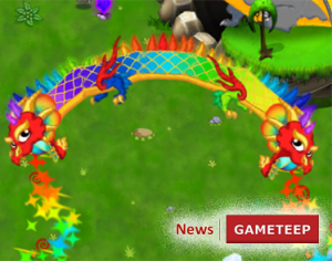 DragonVale Double Rainbow Dragon Breath
