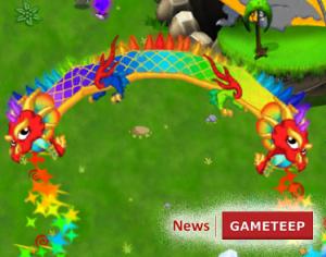 DragonVale Double Rainbow Dragon Breath