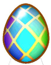 DragonVale Double Rainbow Dragon egg