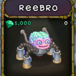 My Singing Monsters: Reebro Monster