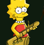 The Simpsons Tapped Out - Lisa Simpson
